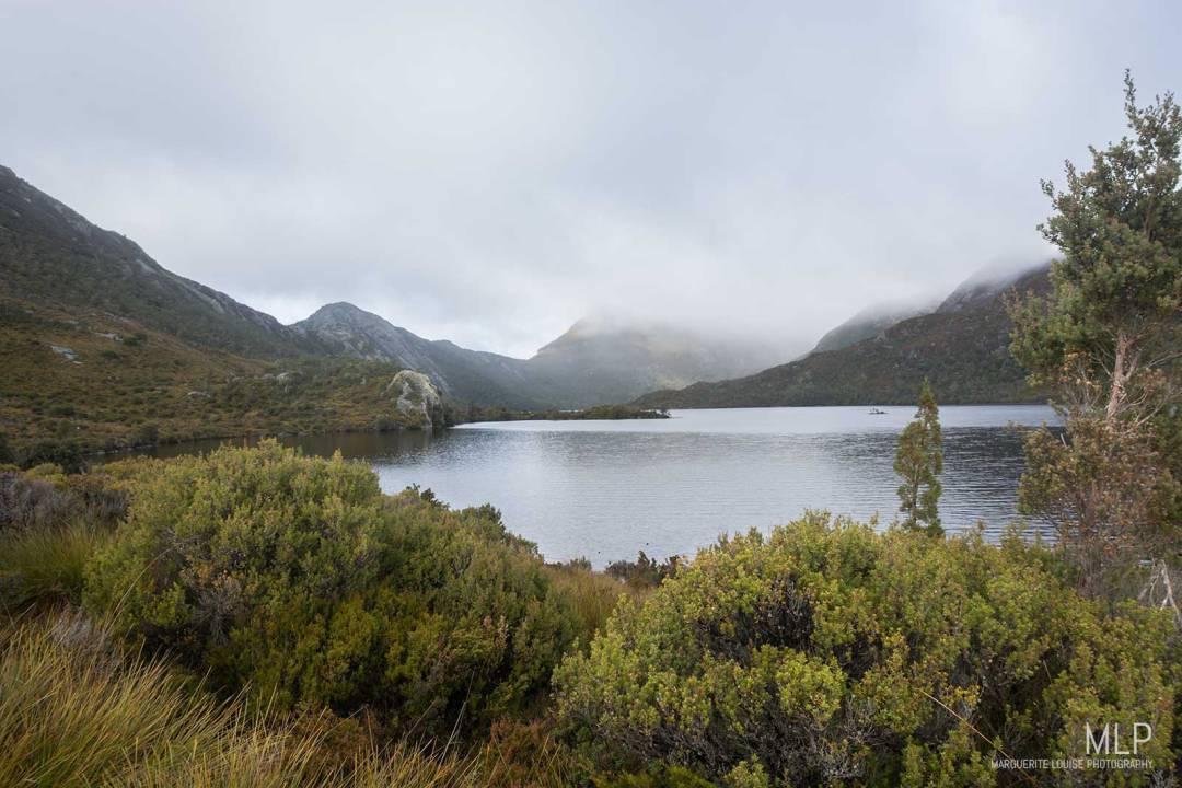dove lake, lake, cradle mountain, tasmania