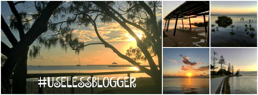 #uselessblogger
