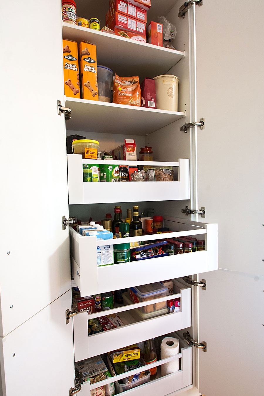pantry, drawers, pantry drawers,