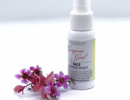 gorgeous girl, face balanced beauty, natural skin care, botanical oils, natural plant based oils,