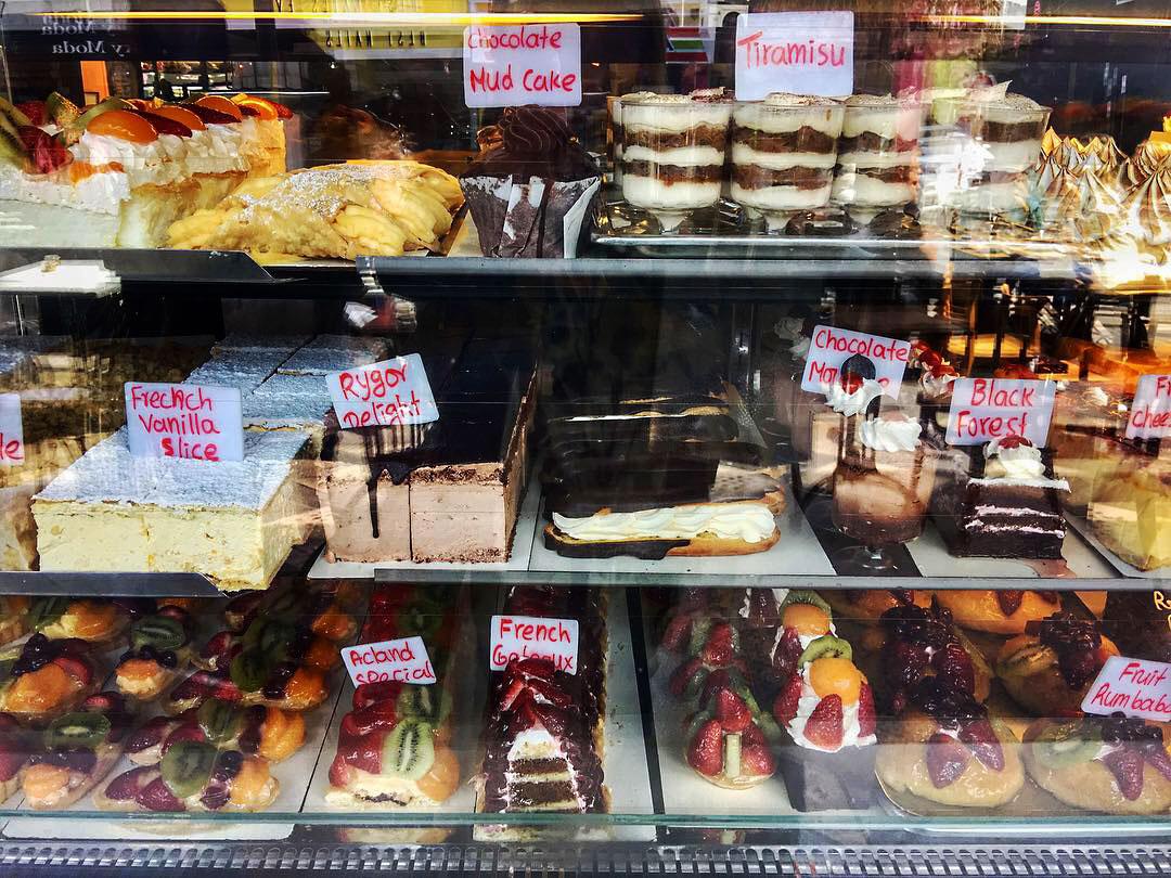 cakes, cake shop, acland, acland street, st kilda, melbourne