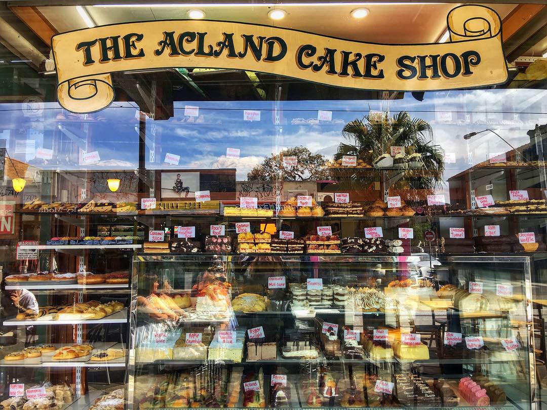 cake shop, acland, acland street, st kilda, melbourne