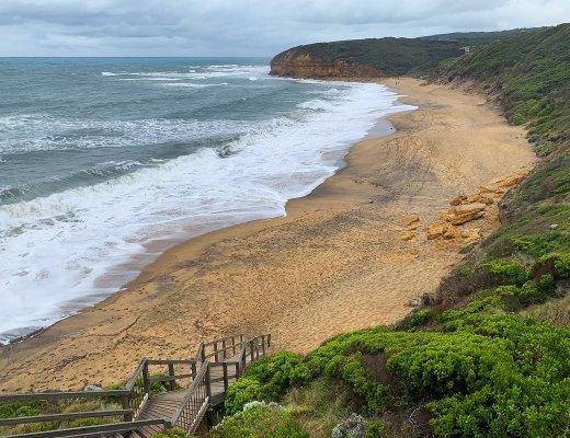 beach, bells beach, torquay, victoria, great ocean road, australia,