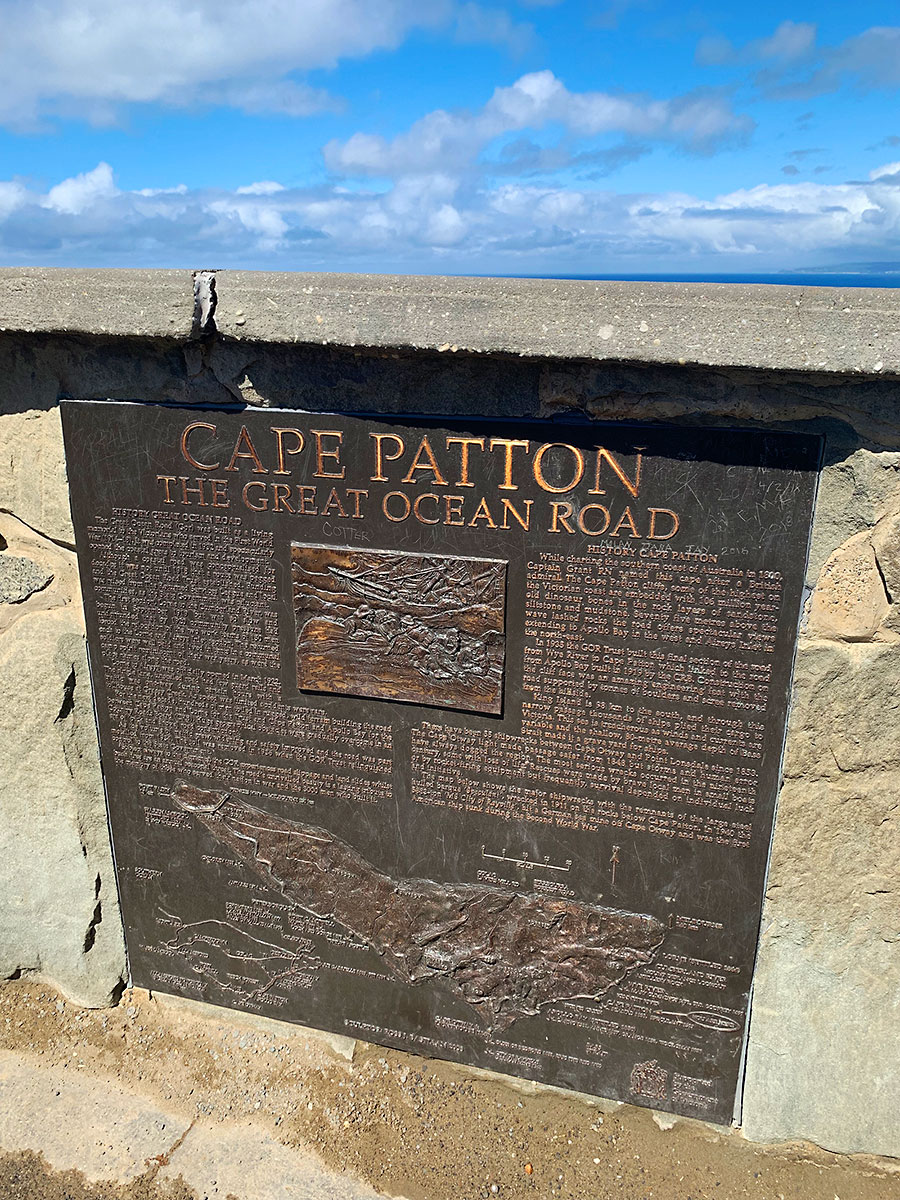 cape patton plaque