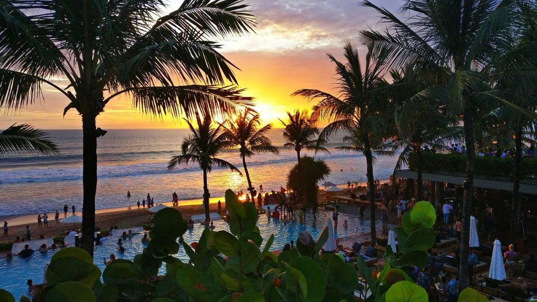 Beachside restaurant at Canggu, Bali