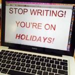 How Writers Do Holidays