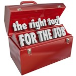 The Right Tool for the Job Toolbox Experience Skills