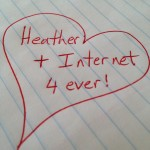 Writer + Internet Relationship Woes
