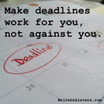Deadlines: Helpful or Harmful?