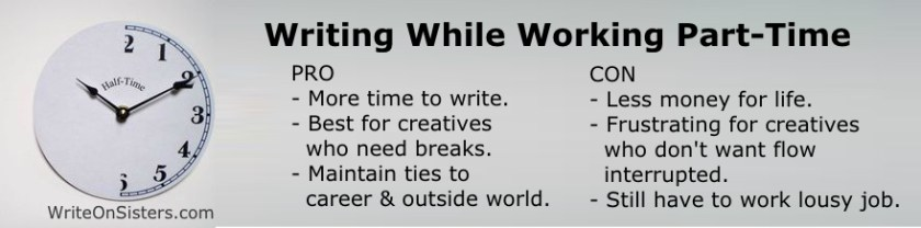 Writing while Working PartTime