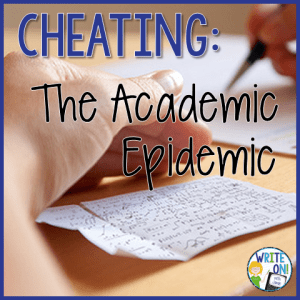 Cheating: The Academic Epidemic - Write On!