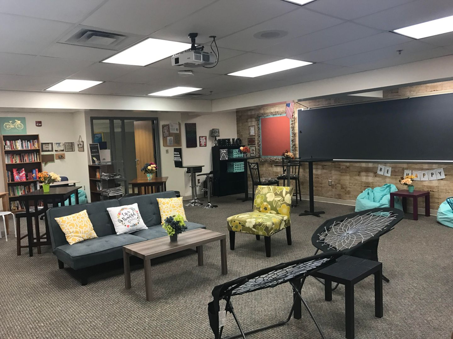 Comfort in the Classroom with Flexible Seating