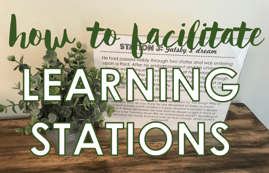 How to Facilitate Successful Learning Stations in the Secondary Classroom