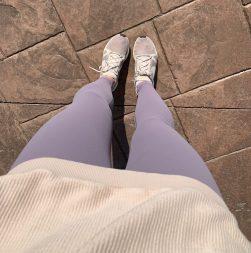 CRZ light fleece leggings