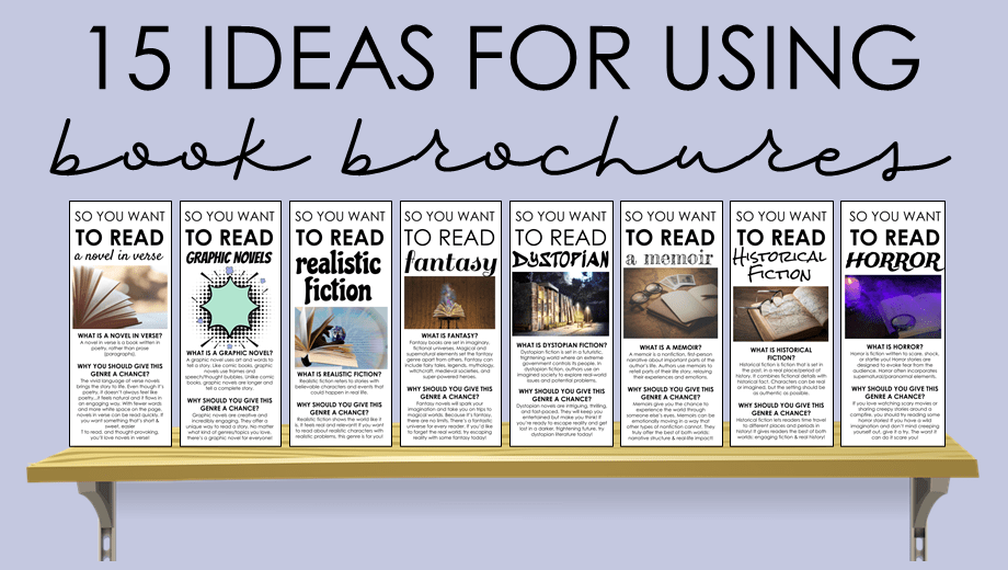 15 Ways to Use Book Recommendation Brochures