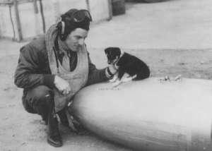Mustang pilot J.C. Howell, USAAF, Leiston.