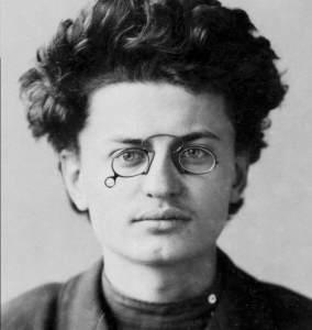 Leon Trotsky. Bad hair day.