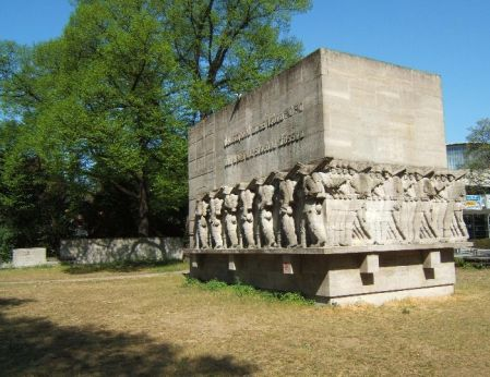 Monument to the 76th Infantry Regiment. A real slap in the face.