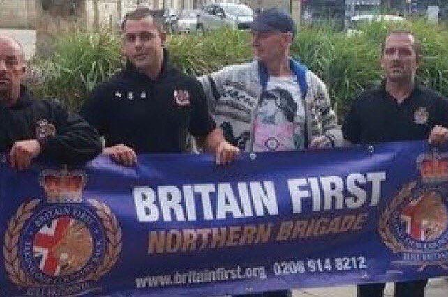 Thomas Mair in a hat, who obviously had nothing to do with Britain First.