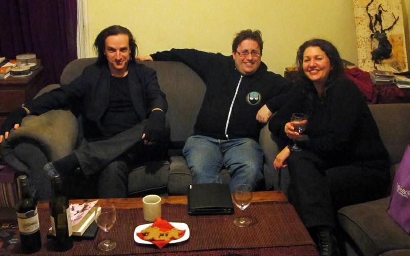 Cameron Rogers, Ian Mond & Kirstyn McDermott