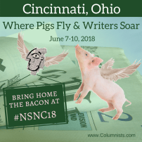 Where pigs fly and writers soar NSNC18