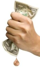 squeezing dollar, writer chick talks, humor