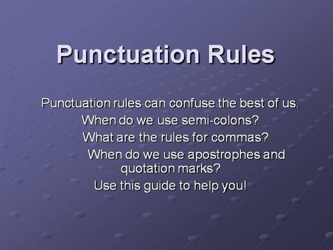 """Punctuation,"""" who needs it? The Period end. (The Full Stop ..."""