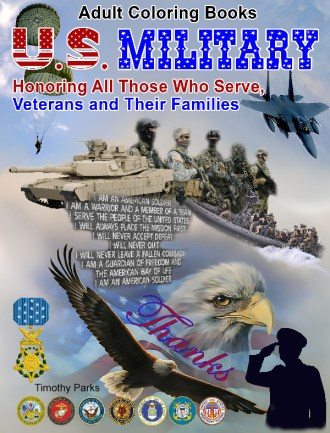 U.S. Military Coloring Books for charity click here