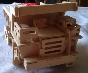 Wooden Dump Truck (front)