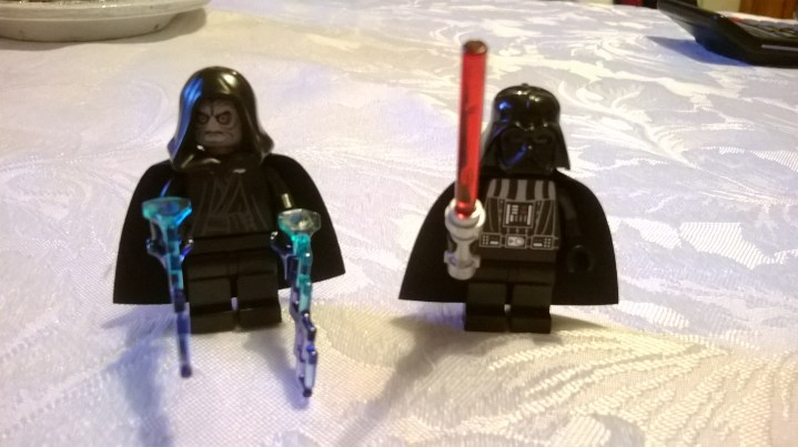 Emperor Palpatine and Darth Vader