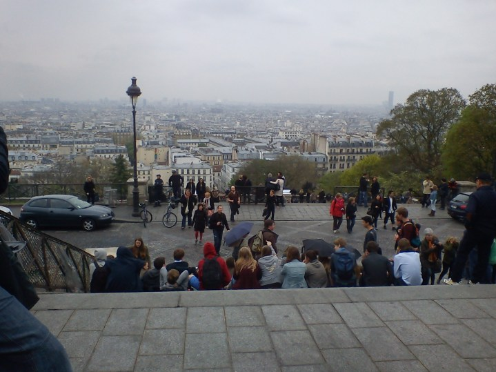 Taken from the top of the steps leading up to the cathedral