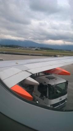 Arriving at Geneva Airport