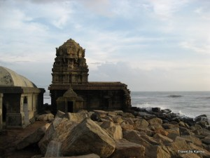 The oldest structure in Tranquebar, a Shiva Temple by the shore