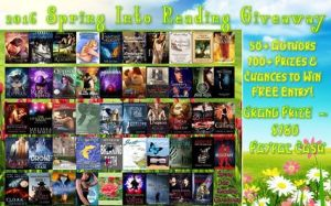 2016 Spring Into Reading Giveaway all books