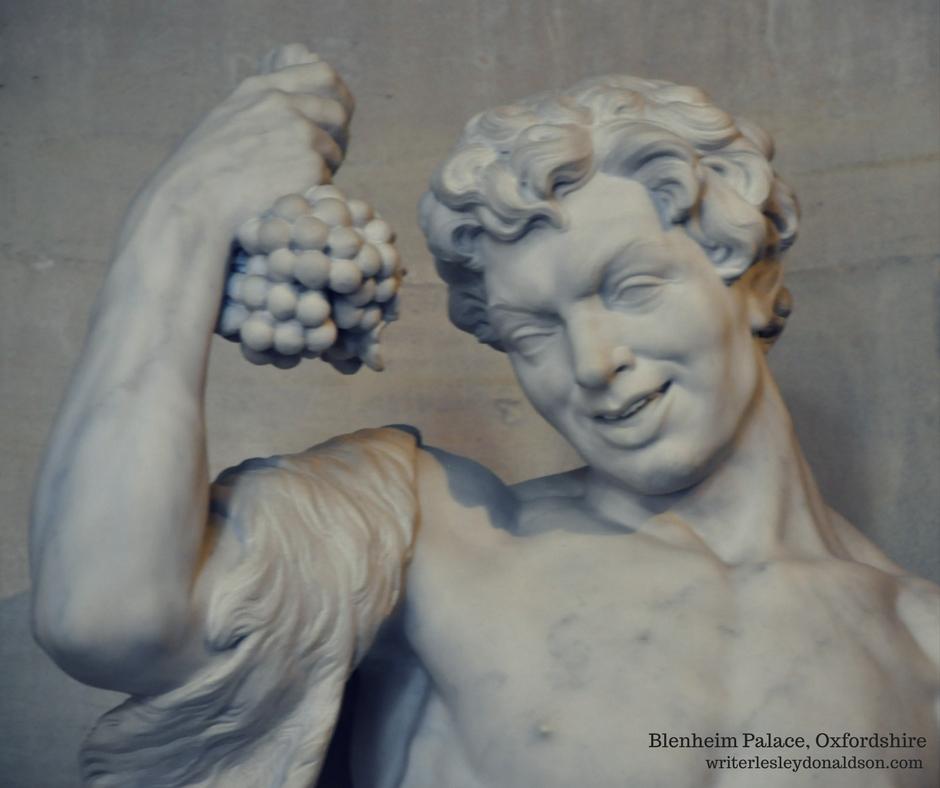 Blenheim Palace, Oxford tourism, Oxfordshire, United Kingdom, UK, wordless wednesday, Roman gods, Dionysus