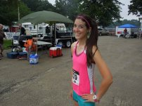 First in age bracket and second place for female overall :)