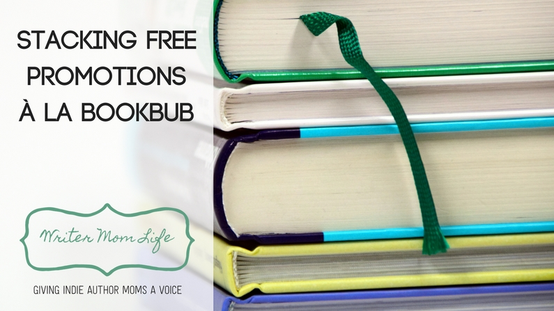 Stacking free promotions to replicate BookBub results