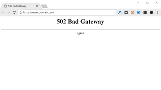Effective Ways of Fixing 502 Bad Gateway