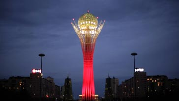 Bayterek Tower - Things To Do In Astana, Kazakhstan
