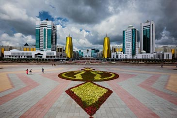 Nurzhol Boulevard - Things To Do In Astana, Kazakhstan