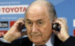 Football man Blatter. Moron, anti-anti-racist and anti-English.