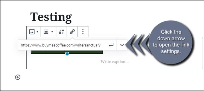 Open Link Settings