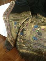 sarees tell stories the black paithani