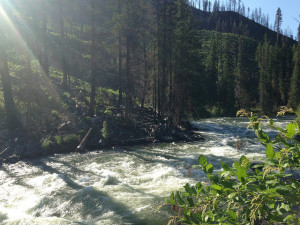 road trip to leavenworth : wenatchee river