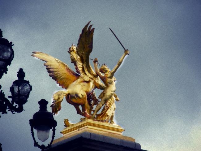 fictional beasts phoenix griffin sphinx