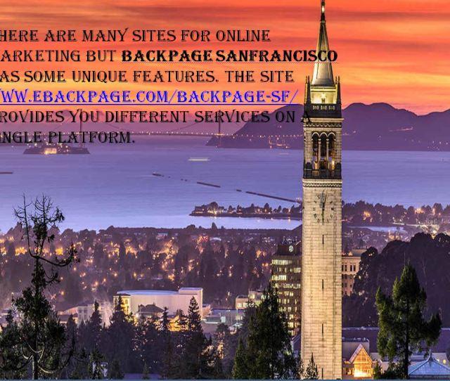 Backpage San Francisco Best Site For Ads Posting