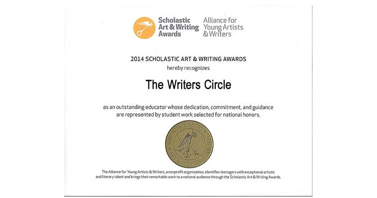 The Writers Circle's 2016 Scholastic Art & Writing Awards Finalists