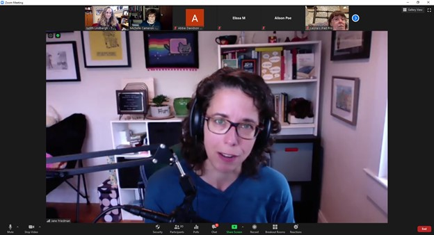 Jane Friedman Comes to The Writers Circle (virtually!)