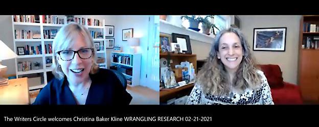 EVENT RECAP: Wrangling Research with Christina Baker Kline