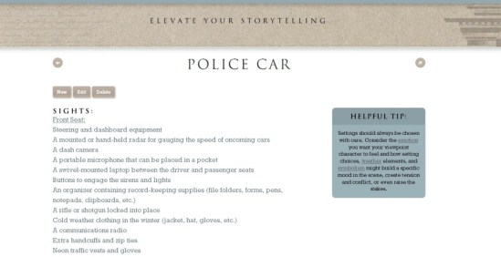 Police Car Entry